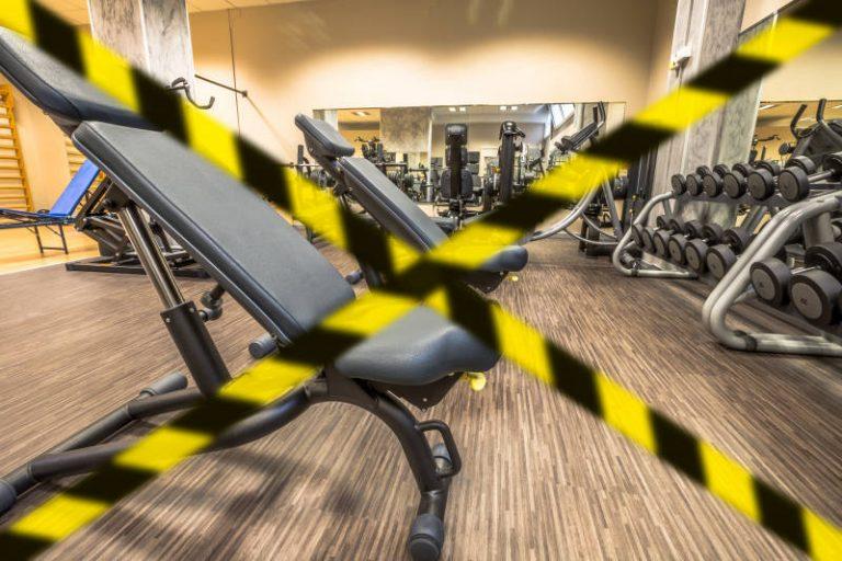 Stängt gym